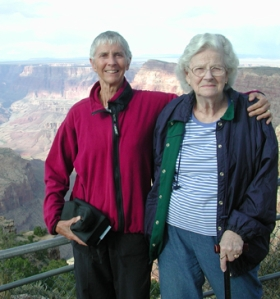 Me and My mom at the Grand Canyon