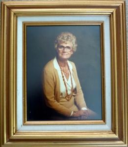 Portrait of Bette Hutchison Silver  at what age? not sure