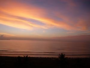 Red Sunrise Tucacas, Venezuela