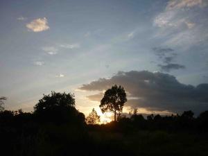 Sunset Nanyuki Kenya