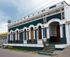 Lon's house that he renovated in El Roble, a village near Mazatlan