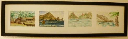 Mazatlan Seascape sketches by Bette Silver
