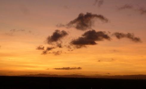 Tucacas, Venezuela, sunset