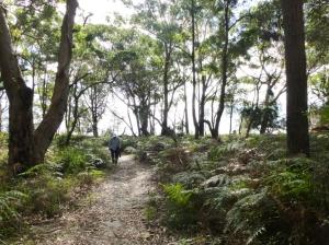 Jim hiking at Boodoree National Park