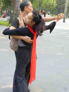 People dancing, Temple of Heaven park