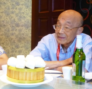 An Ping at a family luncheon September 2015