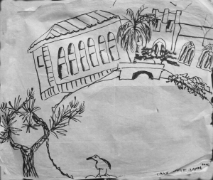 Lake Merritt Pen drawing 232