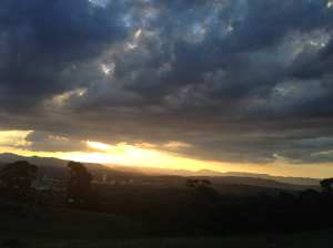 Sunset Red Hill vista_1730