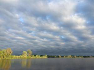 Wakalusa Lake, near Vinland Kansas USA